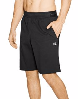 Men's fleece shorts, jogger sweatpants