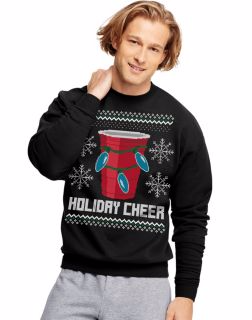 Men's Christmas Fleece Graphic sweatshirt pullover, Men's sweater