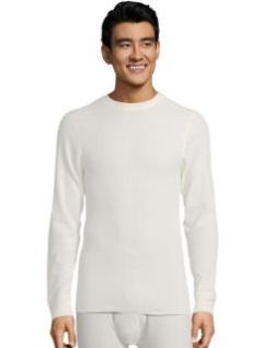 Men's white thermal