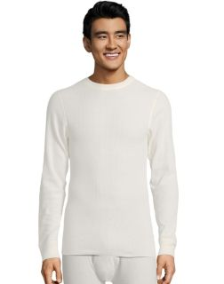 Men's white thermal