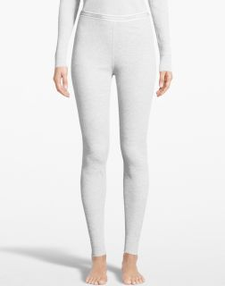 Ladies white thermal base layer pant