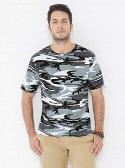 SHORT SLEEVE CAMO TEE SHIRT