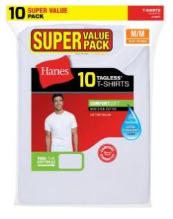 men's white undershirt