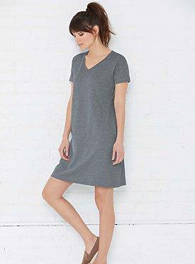 Ladies short sleeve dress